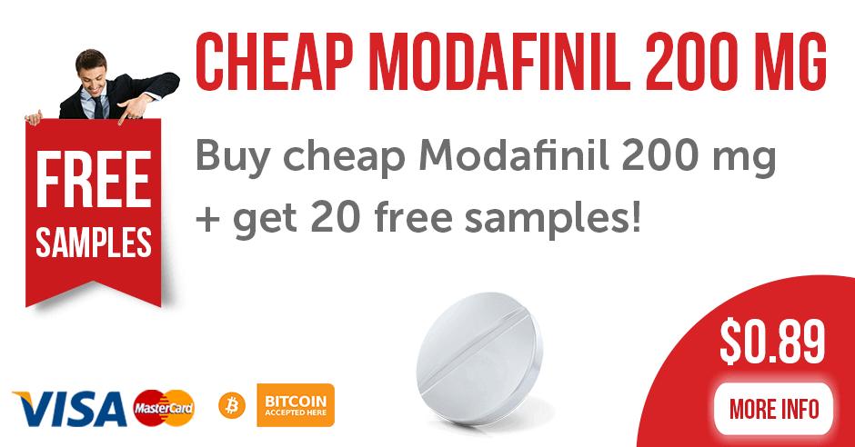 Buy Cheap Modafinil 200 mg