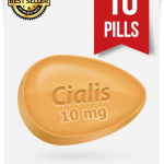 Cialis 10 mg Online x 10 Tablets
