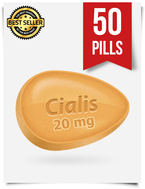 Generic Cialis Online 20mg x 50 Tabs