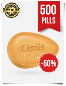 Buy Cialis Online 20mg x 500 Tabs