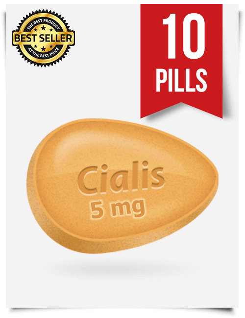 Cialis 5 mg Online x 10 Tablets