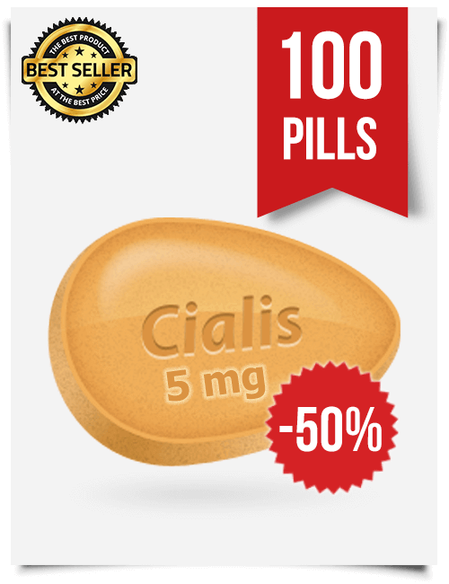 Cialis 5 mg Online x 100 Tablets