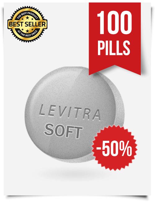 Levitra Soft x 100 Tablets
