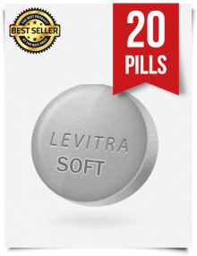 Levitra Soft x 20 Tablets