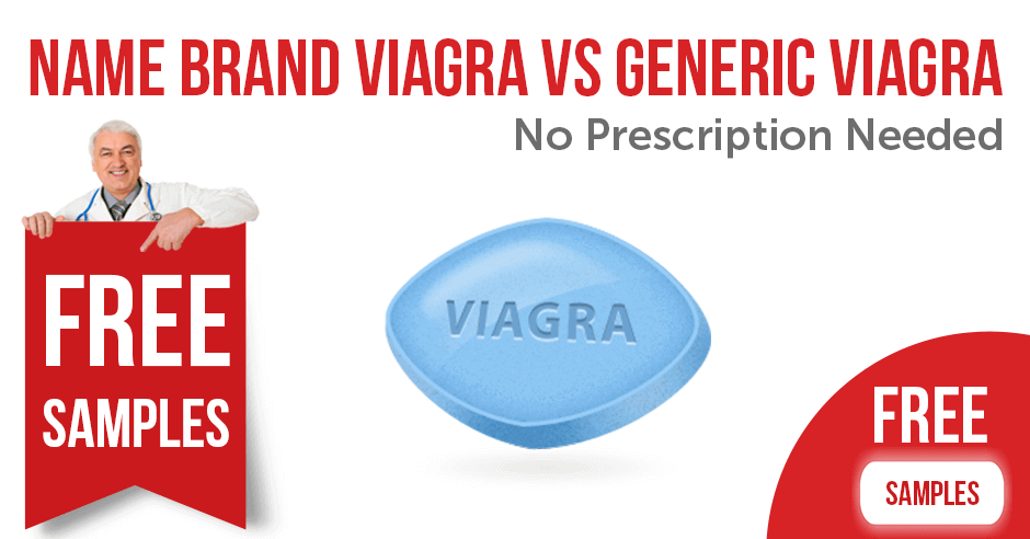 Name Brand vs Generic Viagra. No Prescription Needed?