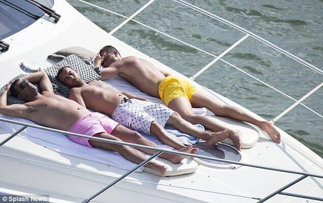 Cristiano Ronaldo Gay Sun Boyfriend Marocco