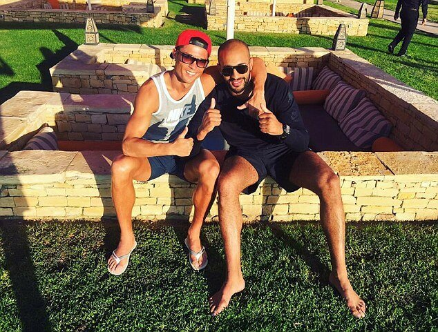 Cristiano Ronaldo with a gay boyfriend