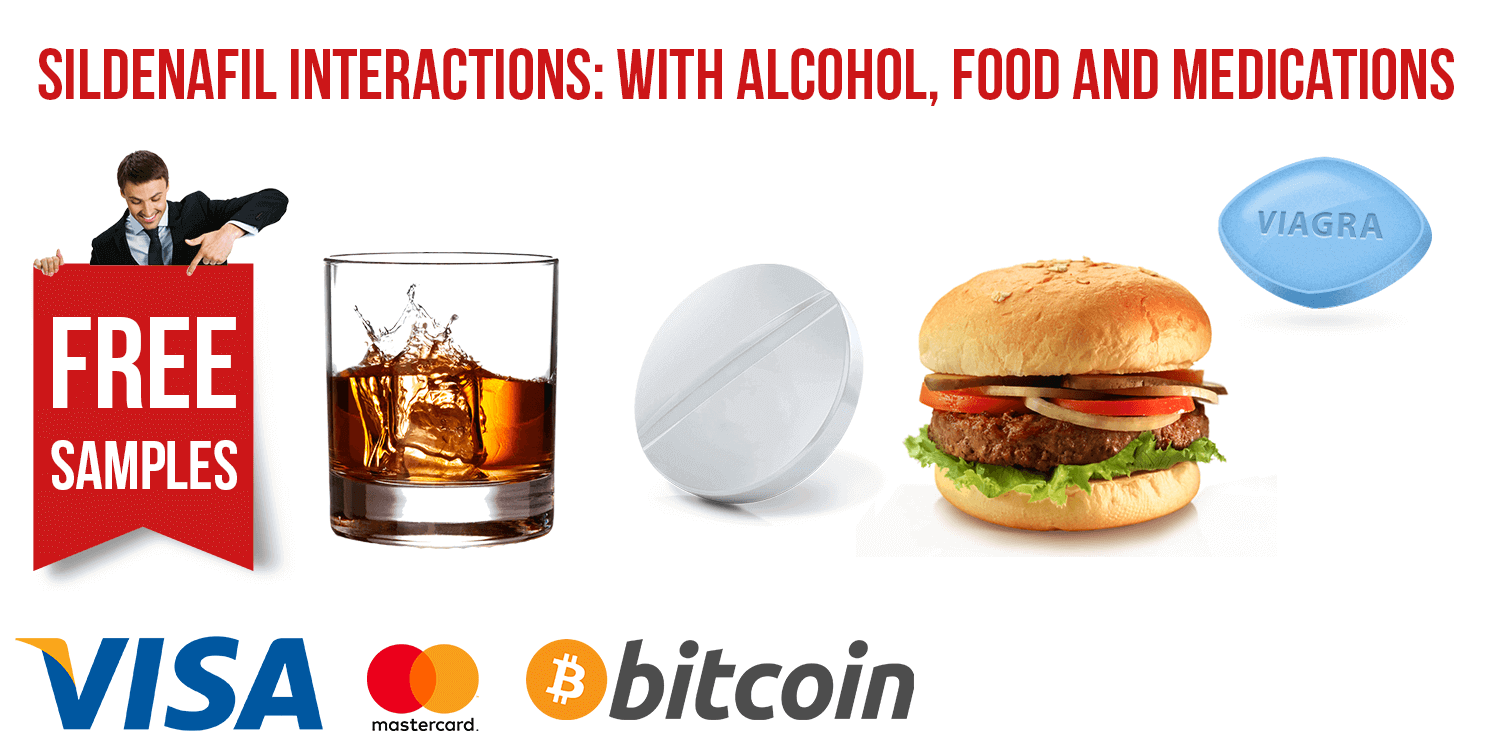 Sildenafil Interactions: with Alcohol, Food and Medications