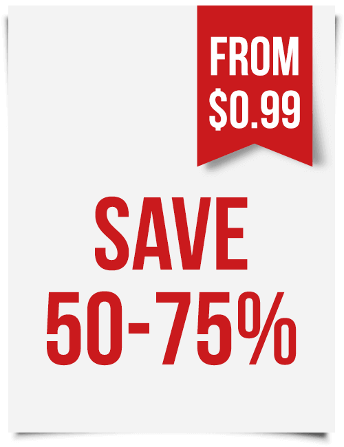 Save 50-70 % with Order