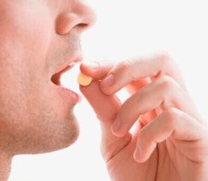 Man takes vardenafil drug